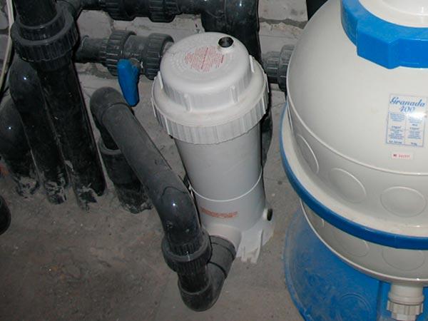 Оборудование для дезинфекции бассейна